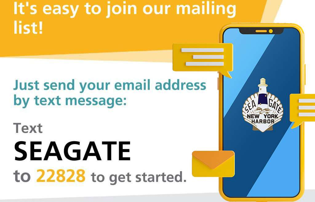 It`s easy to join our mailing list!